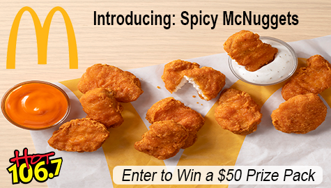McDonald's Spicy McNuggets Prize Pack Giveaway