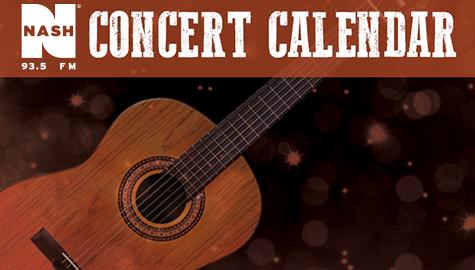 NASH Concert Calendar