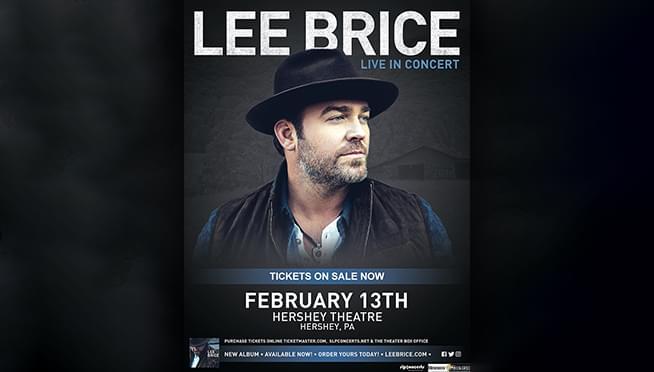 Lee Brice Concert Giveaway
