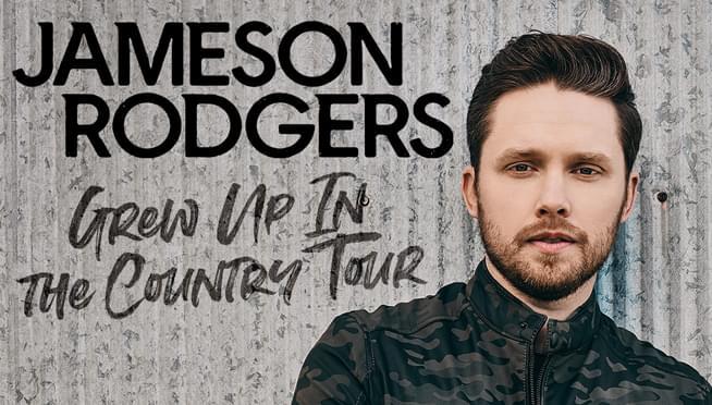 Jameson Rodgers Concert Giveaway