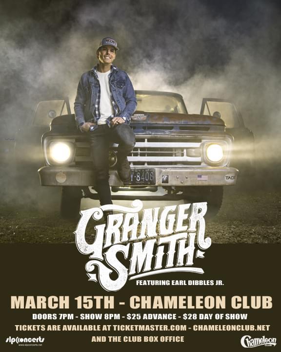 Granger Smith Concert Giveaway