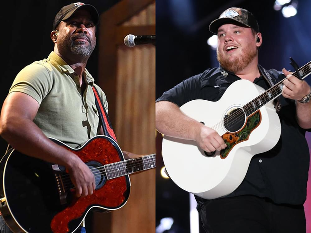 Luke Combs, Darius Rucker & More to Perform Two Shows at the Grand Ole Opry on Feb. 11