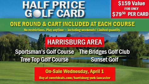 Half Price Golf Card