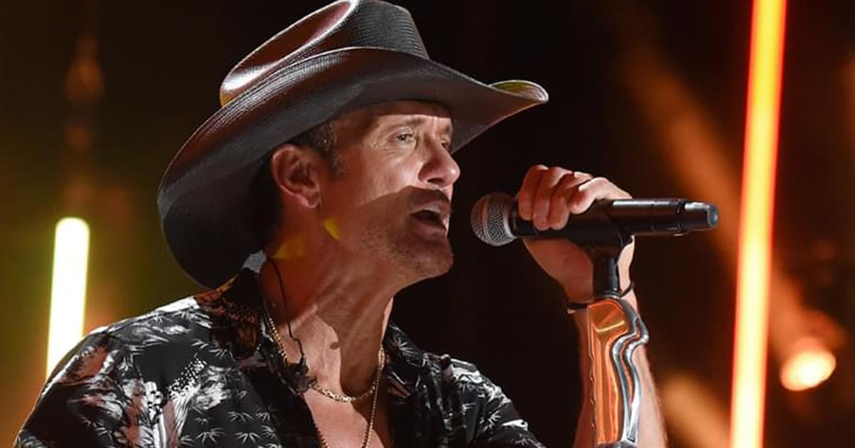 "Watch Tim McGraw Perform Serene New Song ""Hard to Stay Mad At"" on ""The Late Show"""