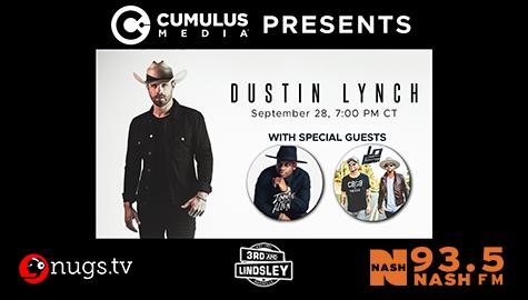 Dustin Lynch Webcast