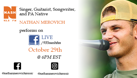 SAVE THE DATE – NATHAN MEROVICH LIVE ON FACEBOOK