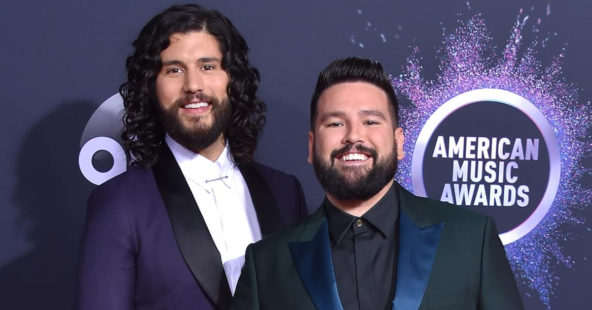 Dan + Shay, Blake Shelton, Maren Morris & Kane Brown Win American Music Awards