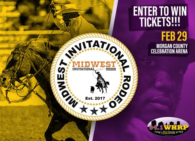 Enter To Win Tickets To The Midwest Invitational Rodeo – Saturday February 29th