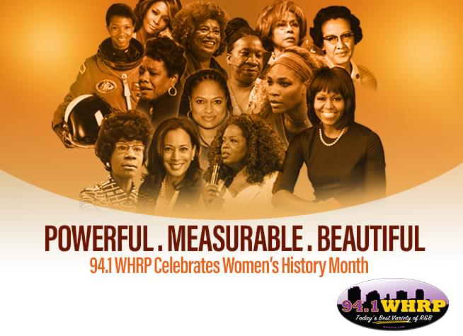 RECAP – 94.1 WHRP Celebrates Women's History Month