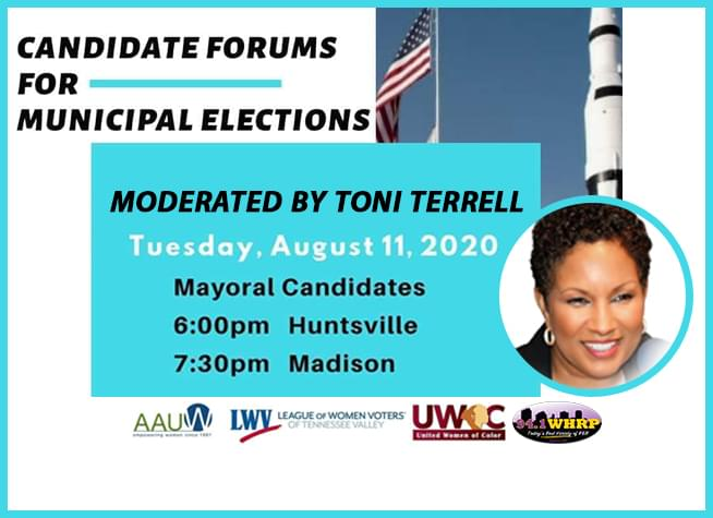 Candidates Forums for Municipal Elections