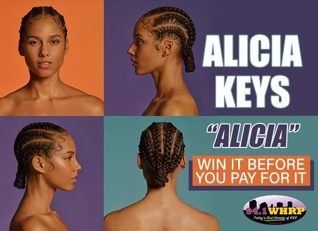 "Win It Before You Pay For It – Alicia Keys' ""Alicia"""