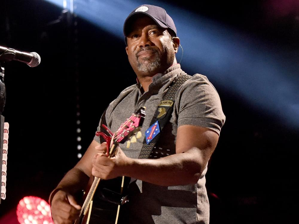 "Darius Rucker's ""Wagon Wheel"" Earns 8x Platinum Certification & Becomes Top 5 Best-Selling Country Song"