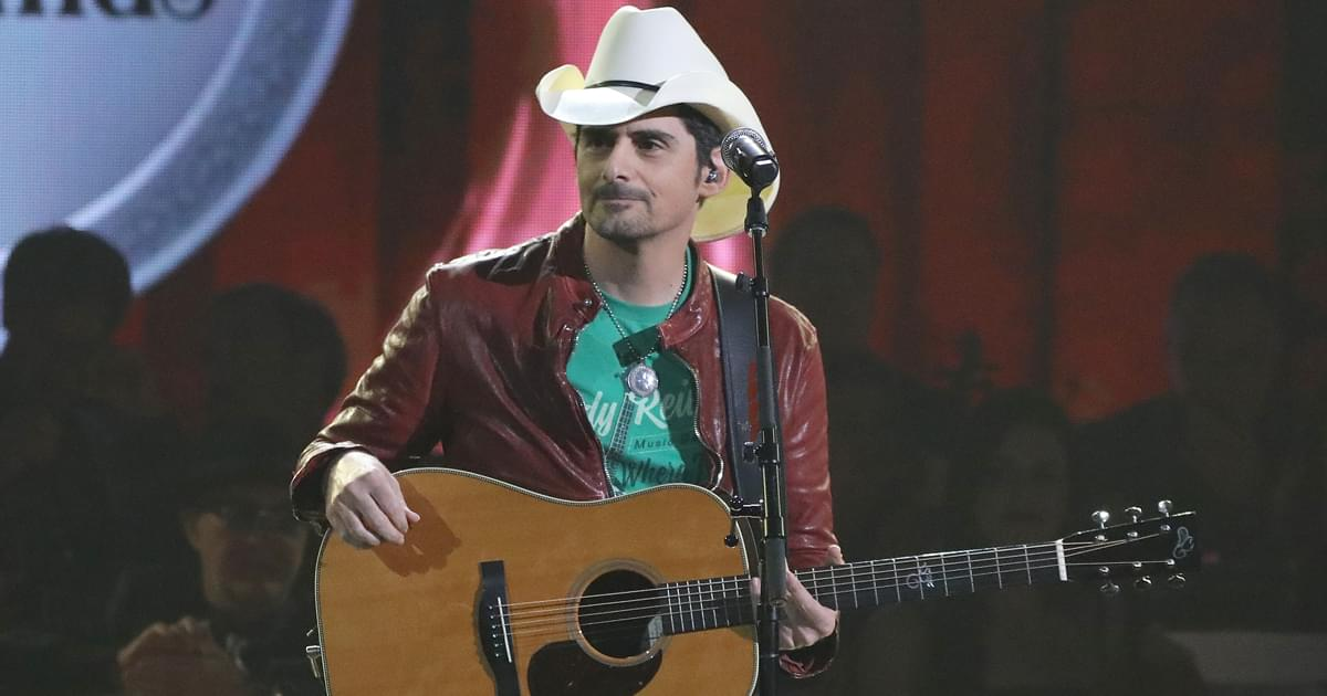 """Listen to Brad Paisley's Acoustic Version of """"No I in Beer"""""""
