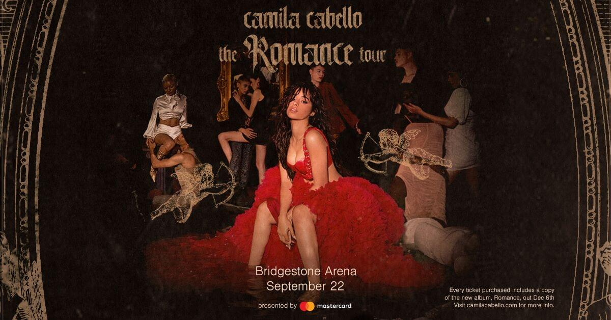 Camila Cabello is coming to the Bridgestone Arena!