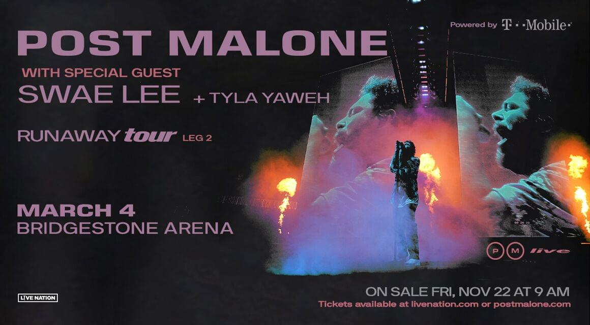 Post Malone added a second leg to his tour!