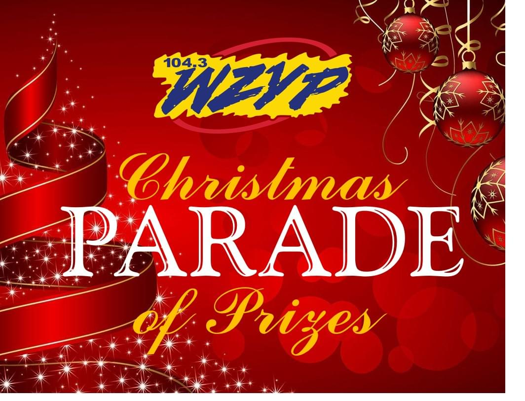 ZYP's Christmas Parade of Prizes!