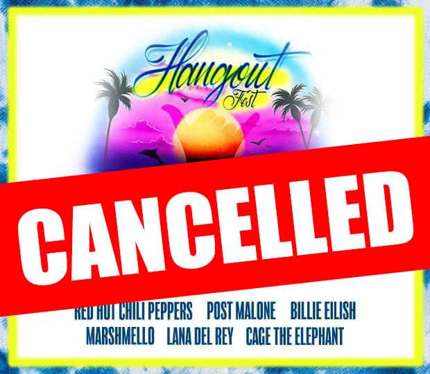 Hangout Music Fest 2020 has been CANCELLED!