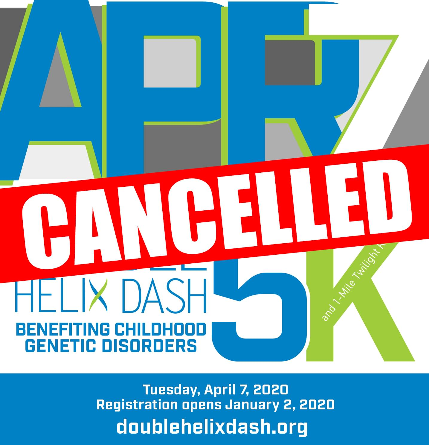 Double Helix Dash has been CANCELLED!