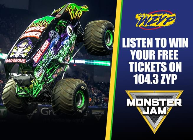 Listen To Win Your Free Tickets to Monster Jam!