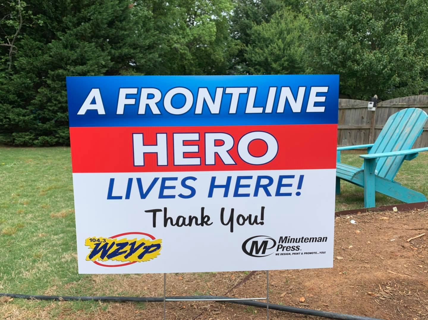 104.3 ZYP wants to salute our local frontline heroes!