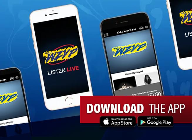 Download the 104.3 ZYP App!