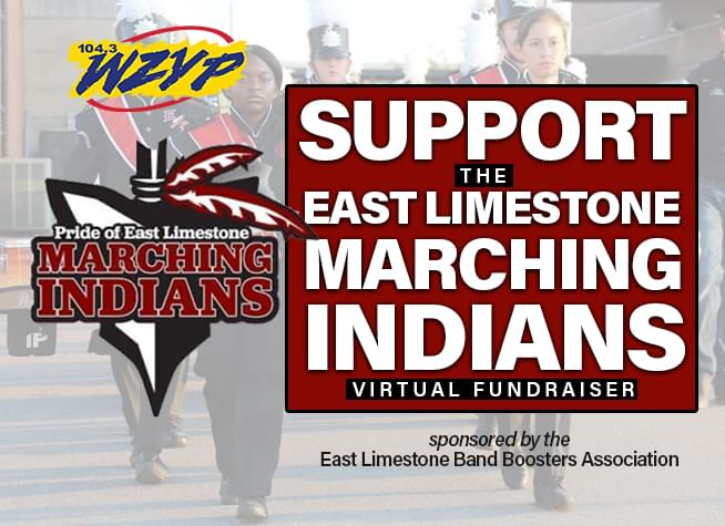 Support the East Limestone Marching Indians