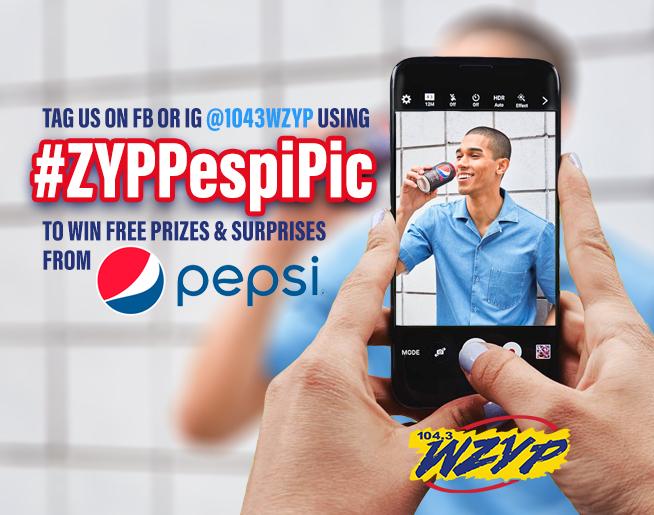 Win FREE stuff from ZYP & Pepsi!!