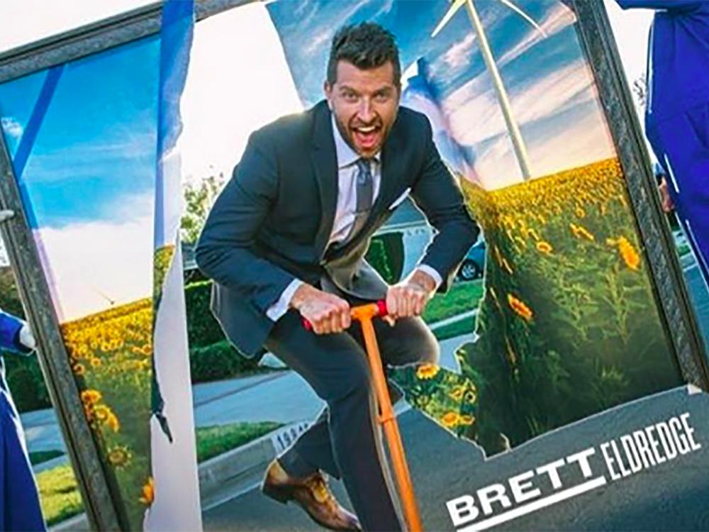 """Brett Eldredge Releases New Single, """"Somethin' I'm Good At"""" [Listen]"""