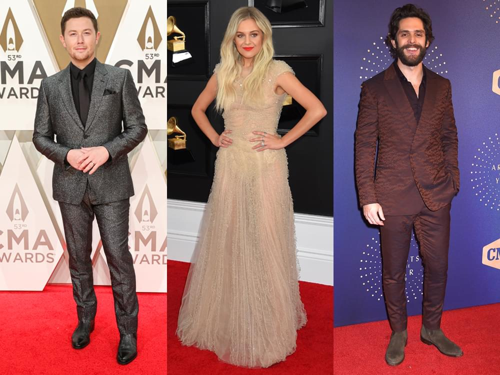 Scotty McCreery, Kelsea Ballerini & Thomas Rhett Share What They're Thankful for in 2019