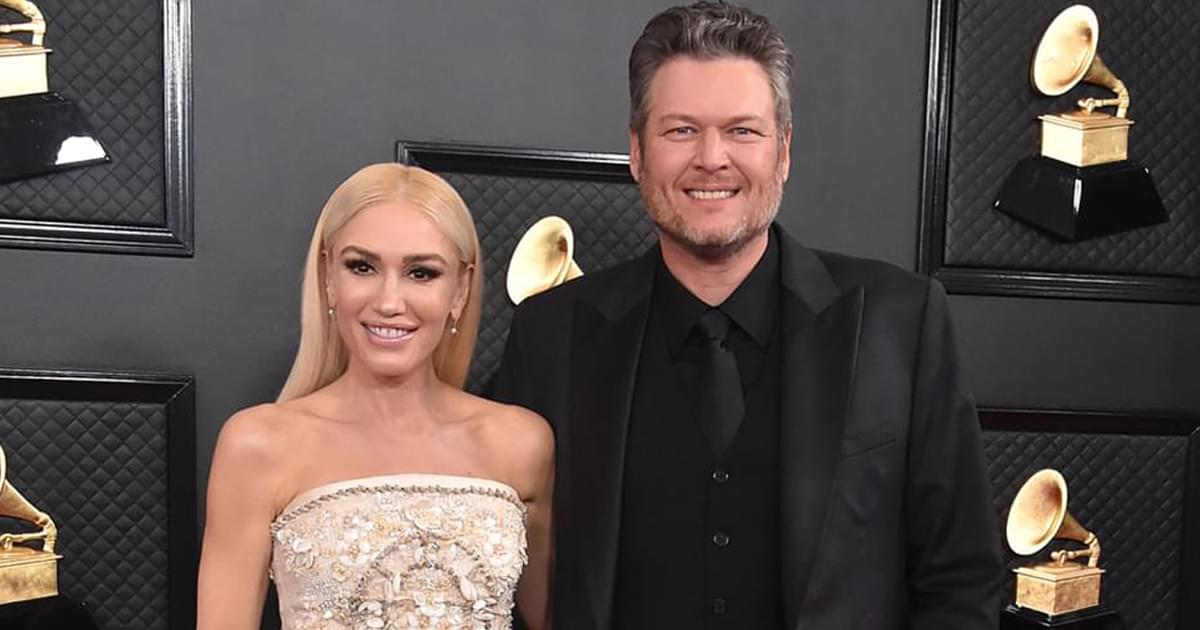 "Blake Shelton Announces New Single, ""Happy Anywhere,"" Featuring Gwen Stefani"