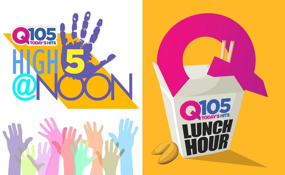 Q105's LUNCH HOUR