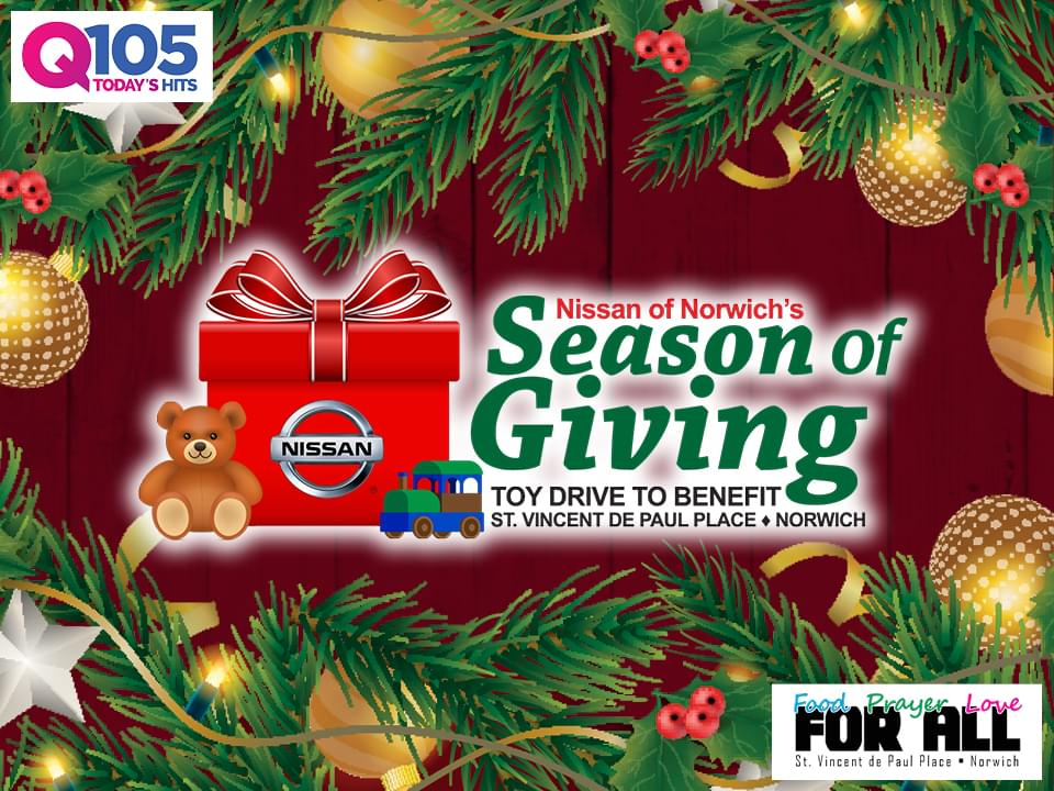 Nissan of Norwich's Season of Giving!