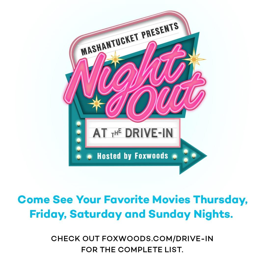 """Q105's """"Night Out at the Drive-In with Foxwoods"""" Contest"""