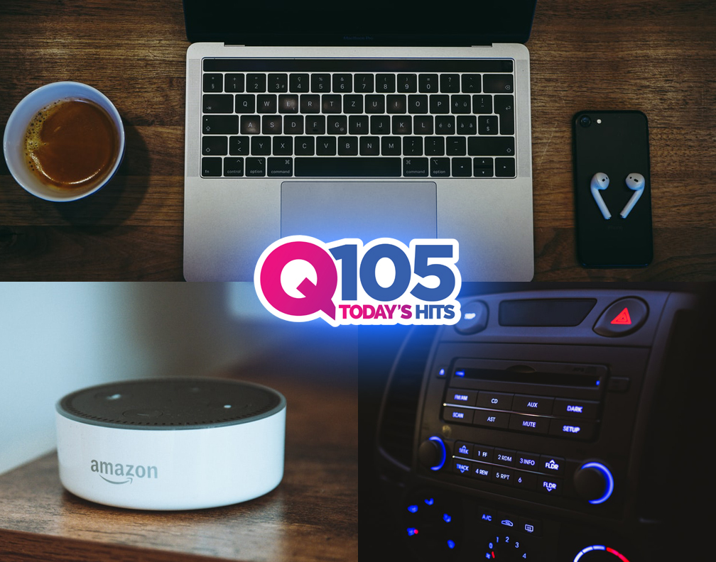 Listen to Q105 ANYWHERE & EVERYWHERE!!