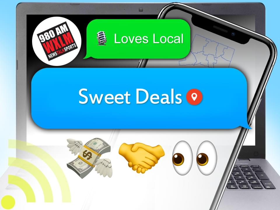 WXLM Loves Local Sweet Deals