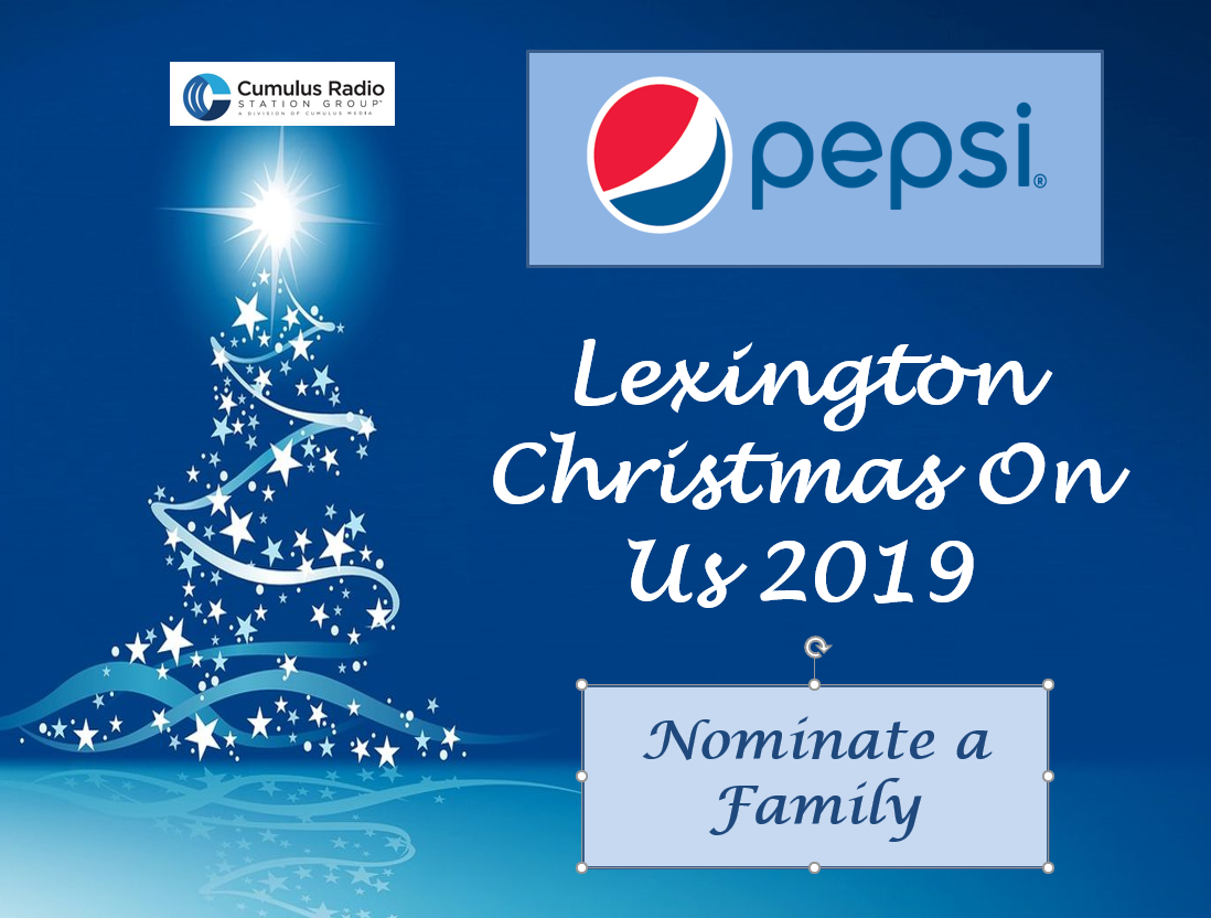 Christmas on Us, Sponsored by Pepsi