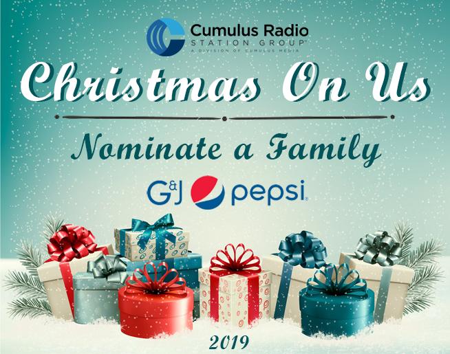 Christmas On Us 2019!