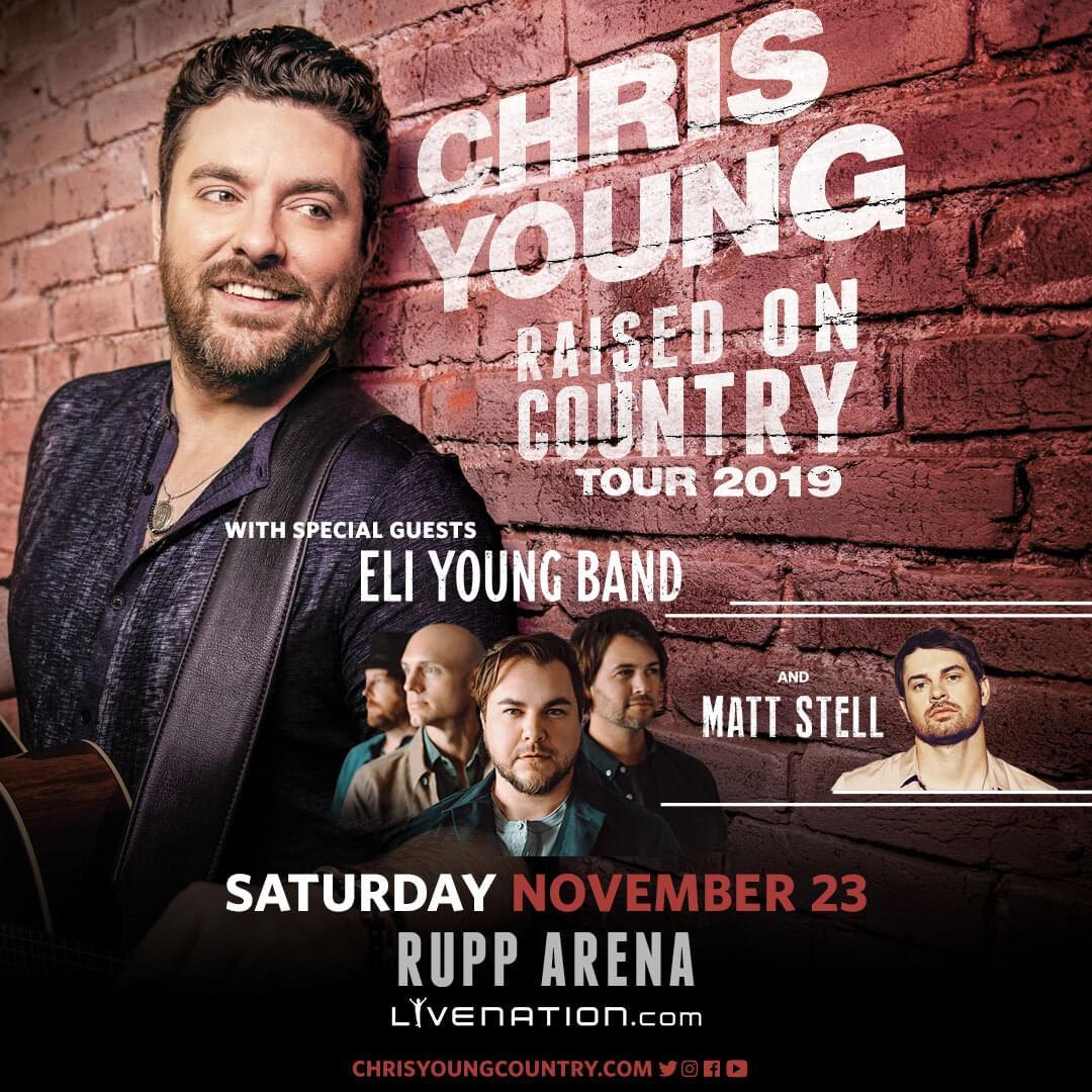 Chris Young at Rupp Arena!