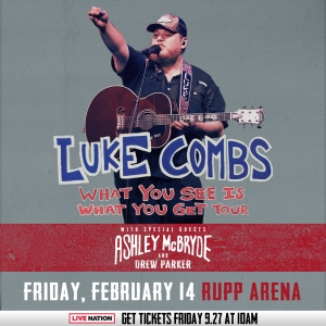 Luke Combs at Rupp Arena!
