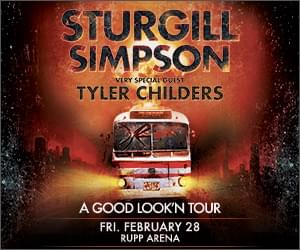 Sturgill Simpson & Tyler Childers at Rupp Arena!