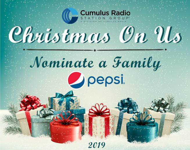 Christmas on Us 2019, Sponsored by Pepsi!