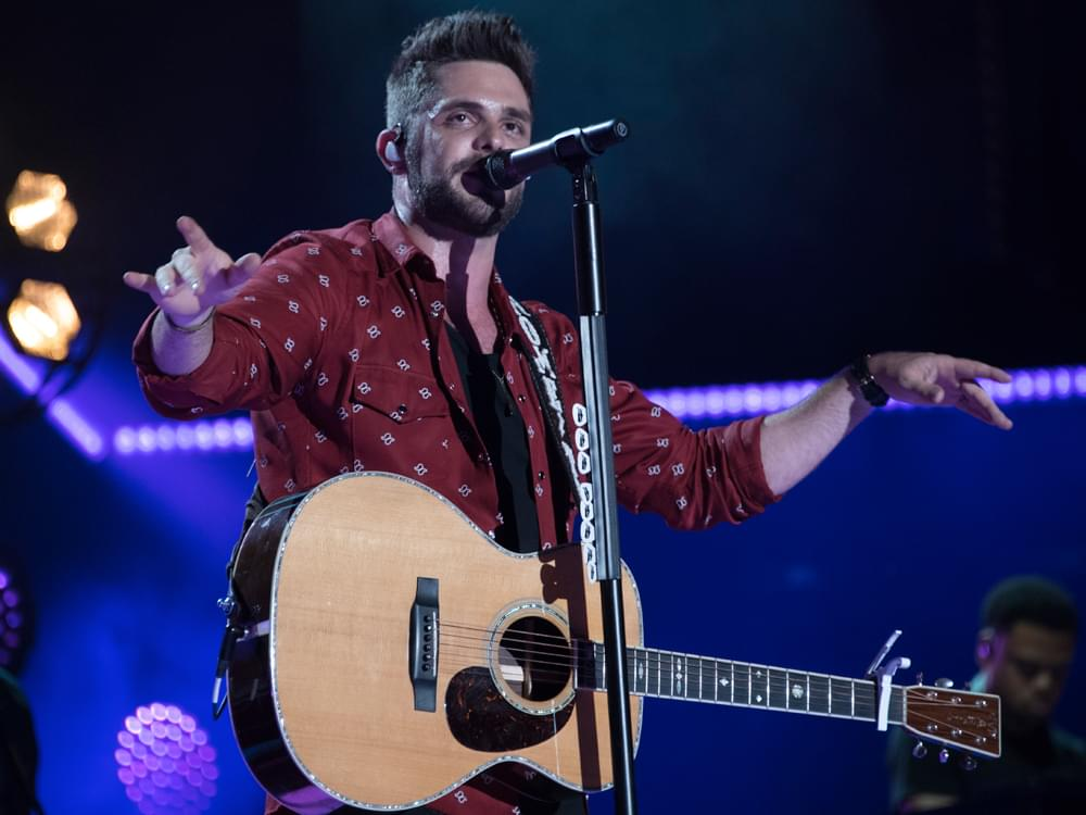 "Play It Forward: Thomas Rhett Says Check Out Ross Ellis' ""Buy & Buy"" [Listen]"