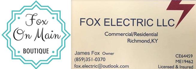 Fox On Main & Fox Electric, LLC
