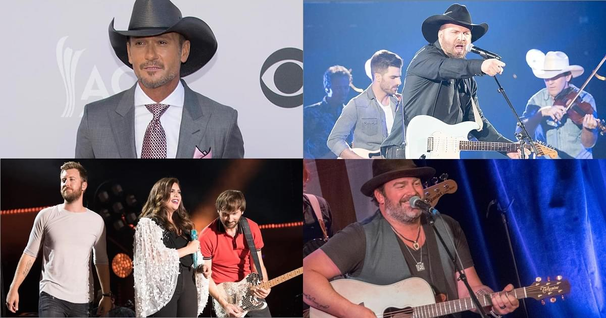 Tim, Garth, Lee & Lady A – New Albums Available Now, Nov 20