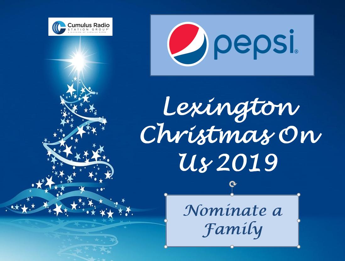 Christmas on Us, Sponsored by Pepsi