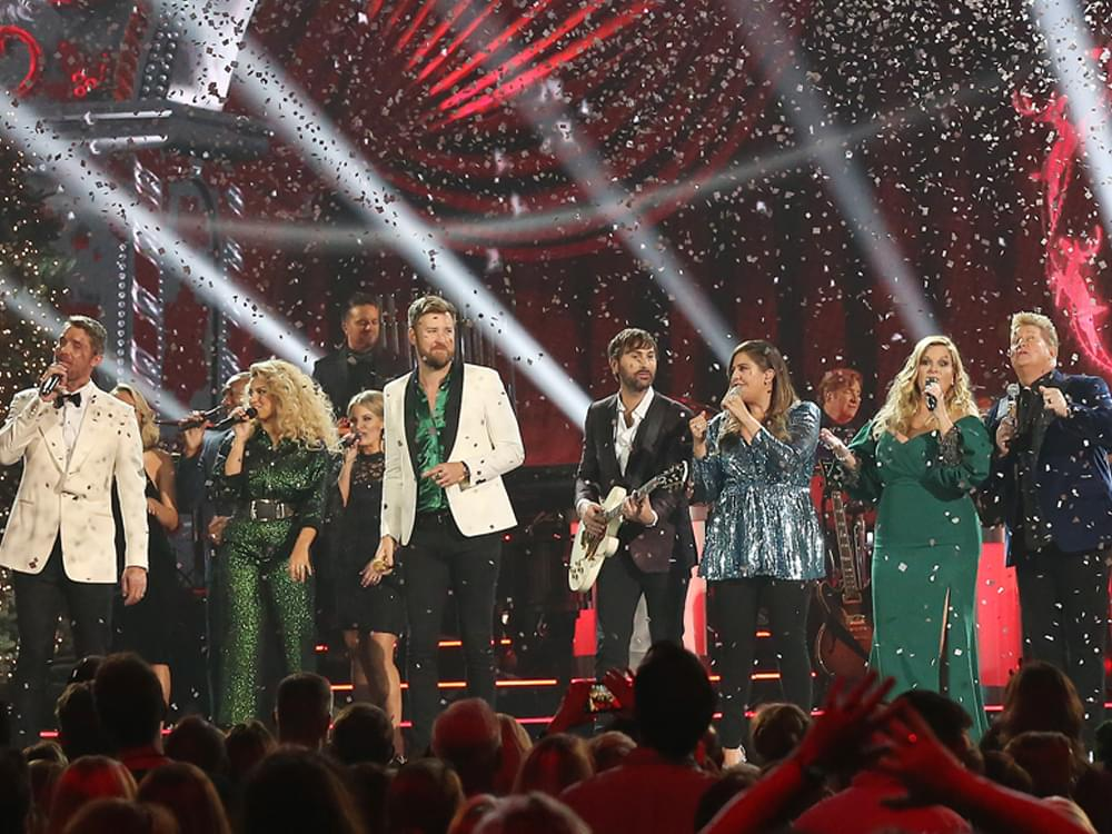 """""""CMA Country Christmas"""" Photo Gallery With Chris Young, Lady Antebellum, Brett Young, Trisha Yearwood & More"""