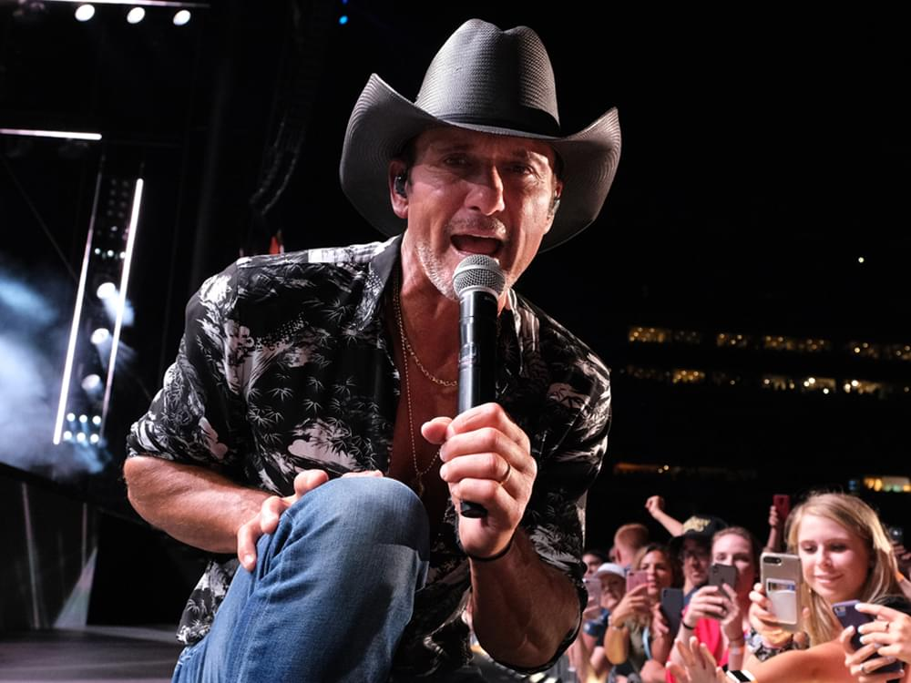 """Tim McGraw Announces """"Here On Earth Tour"""" With Midland, Ingrid Andress & 2 Shows With Special Guest Luke Combs"""