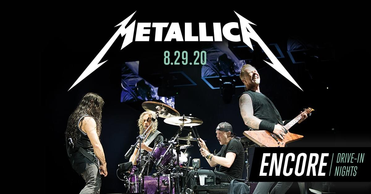 The Metallica Drive In Concert Experience!