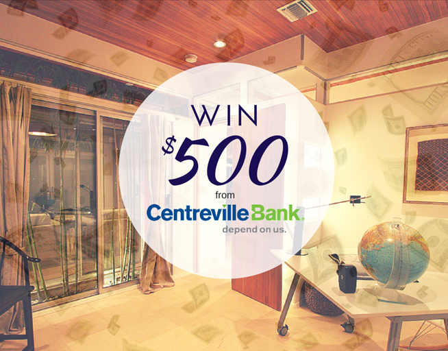 ReNEWvations: Win $500 from Centreville Bank
