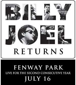 Text In To Win: BILLY JOEL at FENWAY!